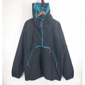 Vtg 90s Sierra Designs Black Purple Teal Jacket XL